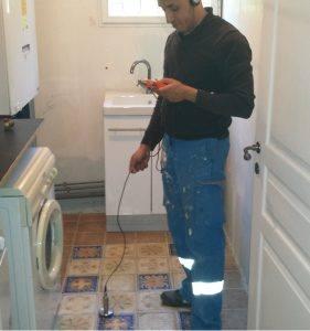 plombier pour recherche de fuite le cannet